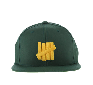 5 STRIKES CAP, GREEN