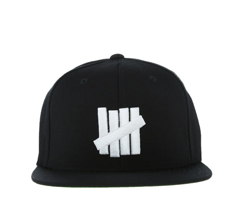 5 STRIKES CAP, BLACK