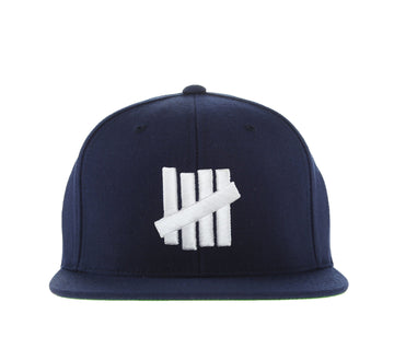 5 STRIKE CAP, NAVY WHITE