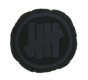 5 STRIKE ROUND PILLOW , BLACK