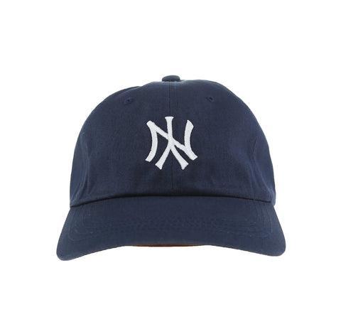 NY FLIP DAD HAT, NAVY