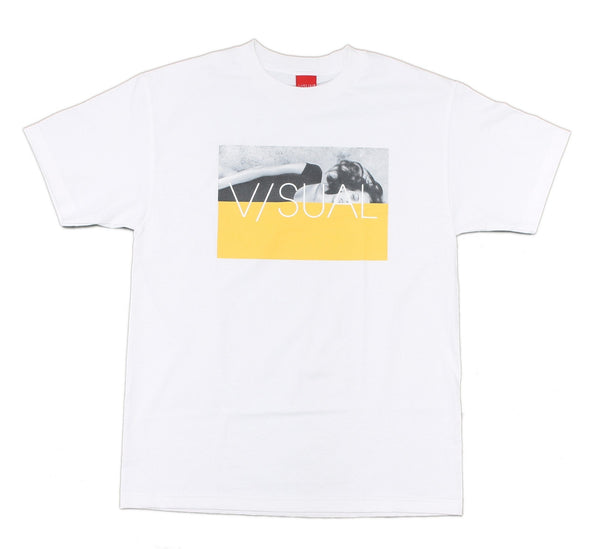DIVIDED TEE, WHITE