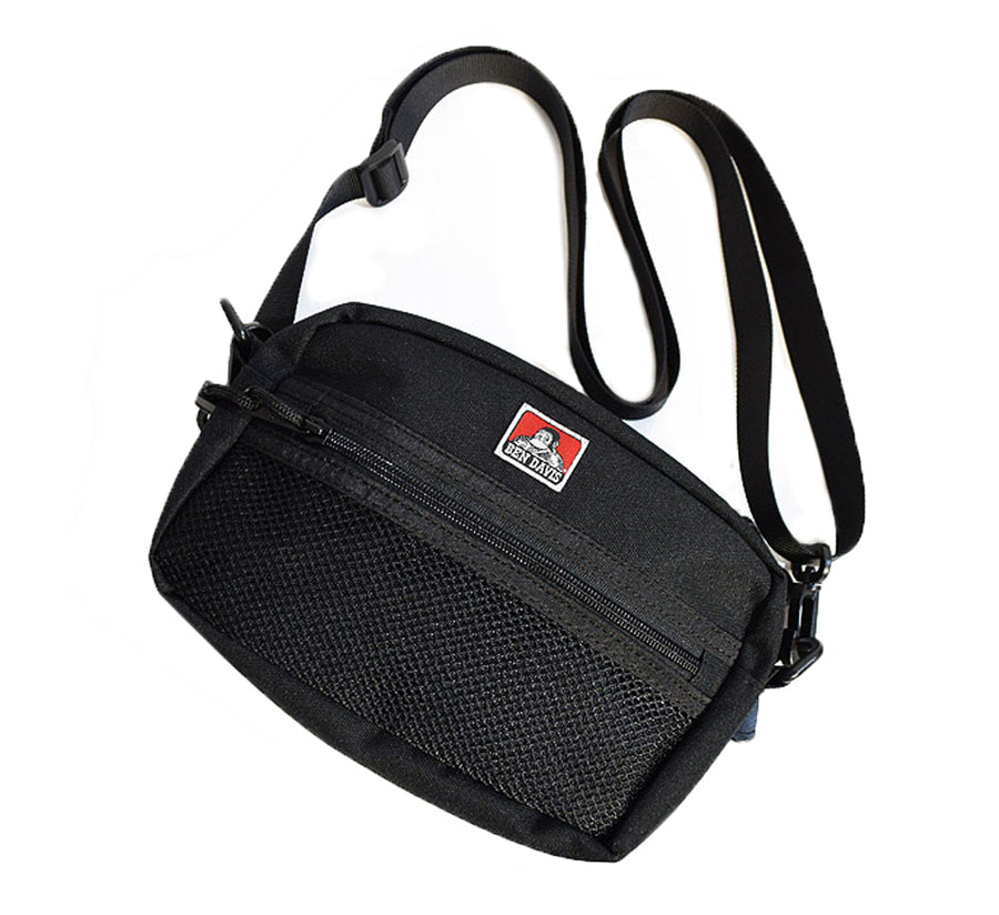 WIDE MESH SHOULDER BAG