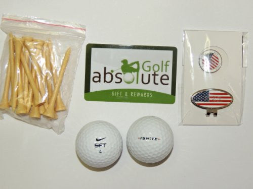 48 Nike Mix Grade A With Free Tee's and Magnetic American Flag Golf Ball Marker/Hat Clip ($6.99 Retail Value)