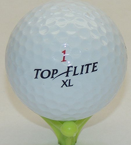 48 Top Flite Recycled Golf Balls in Mesh Bag