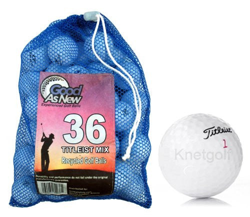 36 Titleist Mix Recycled Golf Ball
