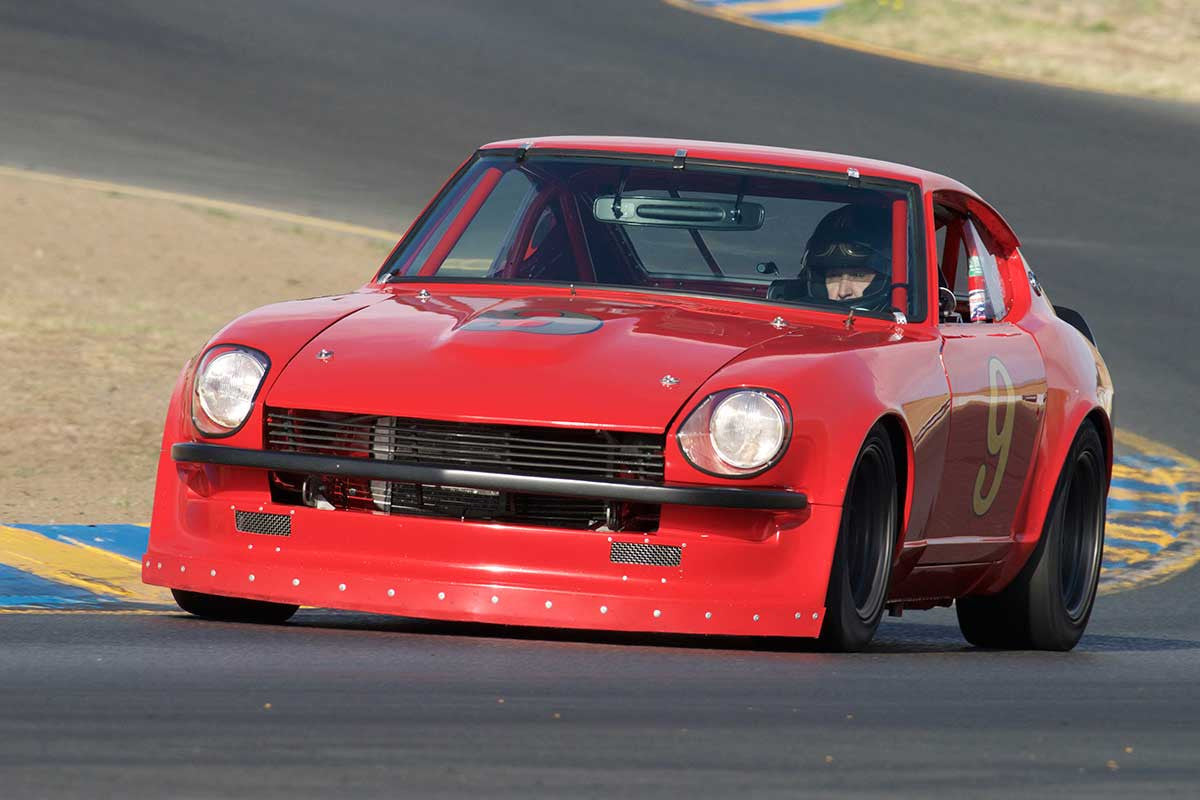 Jim Froula - 1970 Datsun 240Z in Group 8 -  at the 2016 Charity Challenge - Sonoma Raceway