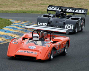 Nick Colonna with 1970 McLaren M8C in Group 7  at the 2016 CSRG David Love Memorial - Sears Point Raceway