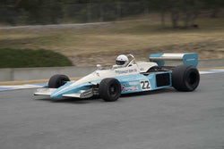 Brian Blain driving his 1976 BRM P207 in Group 2 at the 2015 HMSA LSR Inventional I at Mazda Raceway Laguna Seca