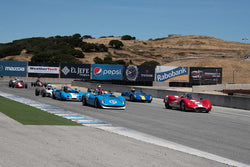 HMSA LSR II with Group 3 in Group 3 -  at the 2016 HMSA LSR II - Mazda Raceway Laguna Seca