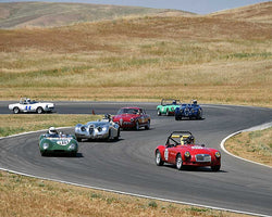 Group 1 Field at the 2015 CSRG Thunderhill Rolling Thunder at Thunderhill Raceway