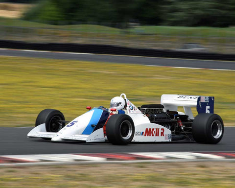 Jerry Kehoe with 1987 March 87B in Group 9 - Wings and Slicks - Open Wheel Cars 1973-2008 at the 2015 Portland Vintage Racing Festival at Portland International Raceway