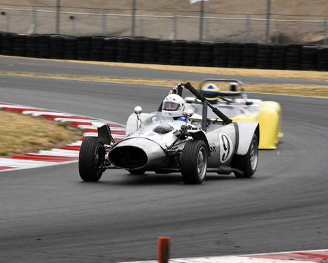 Paul Ingram with 1965 Ladybird MK VI in Group 4 - Limited-Production Sports Racing Cars Prior to 1960 at the 2015 Portland Vintage Racing Festival at Portland International Raceway