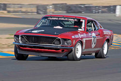 Drew Alcazar - 1969 Ford Mustang Boss 302 in Group 8 - Trans-AM, SCCA Sedan &NIMSA GTU/GTO at the 2017 CSRG Charity Challenge run at Sonoma Raceway