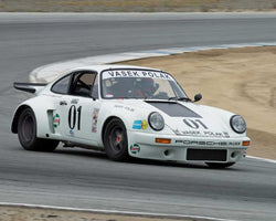 Alan Terpins with 1973 Porsche RSR in Group 4  at the 2016 HMSA Spring Club Event - Mazda Raceway Laguba Seca