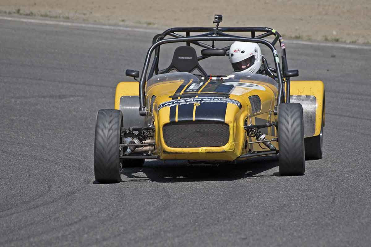 Tom Forsyth - Caterham Seven in Group 7 at the 2017 SOVREN Pacific Northwest Historicsrun at Pacific Raceways