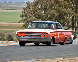 Ken Epsman with 1964 Mercury Marauder in Group 5 - Grand National Stock Cars at the 2015 Sonoma Historic Motorsports Festival at Sonoma Raceway