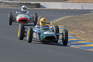 Alberto Fernandez Jr - 1963 Lotus 27 in Group 5 -  at the 2016 Charity Challenge - Sonoma Raceway