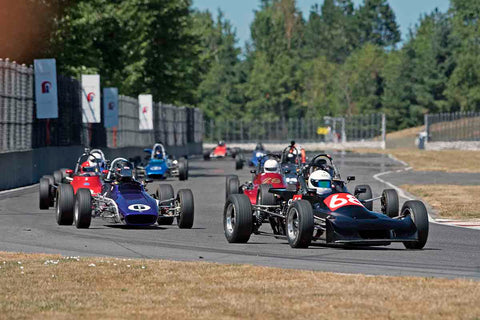 Group 2 at the 2017 SVRA Portland Vintage Racing Festival run at Portland International Raceway