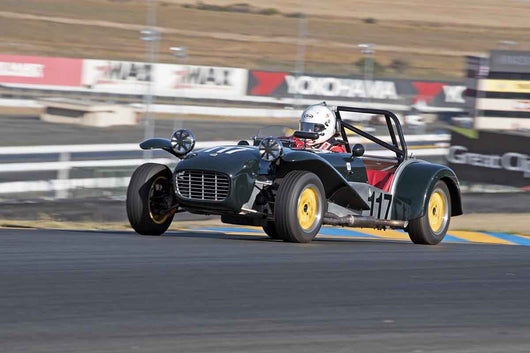 Robert S. Davis - 1965 Lotus Super 7 in Group 3 -  at the 2016 Charity Challenge - Sonoma Raceway