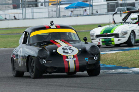 Marcus Pillion - 1960 Porsche 356B - Group 3 at the 2017 Brickyard Vintage Racing Invitationalrun at Indianapolis Motor Speedway