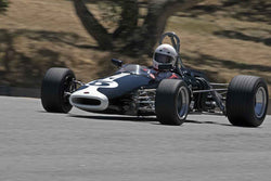 Steve Davis - 1965 Brabham BT16/21   in Group A at the 2017 SCRAMP Spring Classic run at Mazda Raceway Laguna Seca