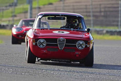 Dean DeSantis - 1967 Alfa Romeo GT JR in Group 2 - Small Displacement Production Sports Cars and GT Cars Through 1972 at the 2018 CSRG David Love Memorial run at Sonoma Raceway