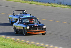 Scott Brown - 1966 MG BGT in Group 2 - Small Displacement Production Sports Cars and GT Cars Through 1972 at the 2018 CSRG David Love Memorial run at Sonoma Raceway