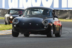 Alec Hugo - 1962 Porsche 356B in Group 2 - Small Displacement Production Sports Cars and GT Cars Through 1972 at the 2018 CSRG David Love Memorial run at Sonoma Raceway