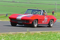 Richard Orme - 1963 Chevrolet corvette in Group 3 - Large Displacement Production Sports Cars and GT Cars Through 1972 at the 2018 CSRG David Love Memorial run at Sonoma Raceway