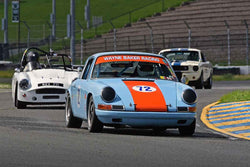 Wayne Baker - 1967 Porsche 911S in Group 3 - Large Displacement Production Sports Cars and GT Cars Through 1972 at the 2018 CSRG David Love Memorial run at Sonoma Raceway