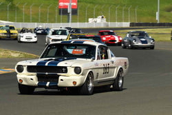 Jeffrey Abramson - 1965 Shelby GT350 in Group 3 - Large Displacement Production Sports Cars and GT Cars Through 1972 at the 2018 CSRG David Love Memorial run at Sonoma Raceway