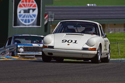 C. Patrick Costin - 1967 Porsche 911S in Group 3 - Large Displacement Production Sports Cars and GT Cars Through 1972 at the 2018 CSRG David Love Memorial run at Sonoma Raceway