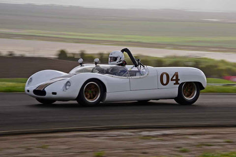 Ted Herb - 1964 Merlyn Mk6A in Group 4 - Small Displacement Production Sports Cars and GT Cars Through 1967 & FIA Group 6 & 7 (CanAm) Cars at the 2018 CSRG David Love Memorial run at Sonoma Raceway