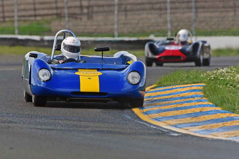 Michael Callaham - 1964 Lotus 23B in Group 4 - Small Displacement Production Sports Cars and GT Cars Through 1967 & FIA Group 6 & 7 (CanAm) Cars at the 2018 CSRG David Love Memorial run at Sonoma Raceway