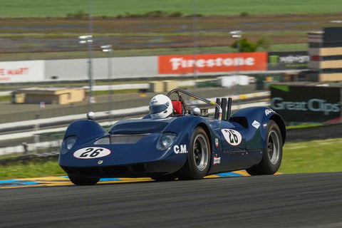 David Smoker - 1965 McLaren M1A in Group 4 - Small Displacement Production Sports Cars and GT Cars Through 1967 & FIA Group 6 & 7 (CanAm) Cars at the 2018 CSRG David Love Memorial run at Sonoma Raceway