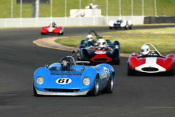 Bob McCormack - 1964 Brabham BT8 in Group 4 - Small Displacement Production Sports Cars and GT Cars Through 1967 & FIA Group 6 & 7 (CanAm) Cars at the 2018 CSRG David Love Memorial run at Sonoma Raceway