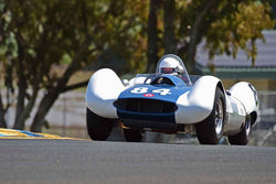 Greg Meyer - 1959 Sadler MkIV in Group 4 - Small Displacement Production Sports Cars and GT Cars Through 1967 & FIA Group 6 & 7 (CanAm) Cars at the 2018 CSRG David Love Memorial run at Sonoma Raceway