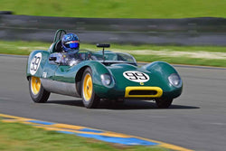 Thor Johnson - 1959 Lotus 17 in Group 4 - Small Displacement Production Sports Cars and GT Cars Through 1967 & FIA Group 6 & 7 (CanAm) Cars at the 2018 CSRG David Love Memorial run at Sonoma Raceway