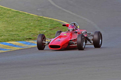 Michael McDermott - 1973 Titan FF Mk. 6 in Group 6 - Formula Ford Open Wheel Cars at the 2018 CSRG David Love Memorial run at Sonoma Raceway