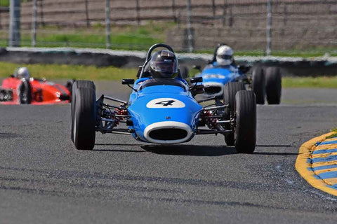 Edward Lauber - 1969 Titan MK 5 FF in Group 6 - Formula Ford Open Wheel Cars at the 2018 CSRG David Love Memorial run at Sonoma Raceway