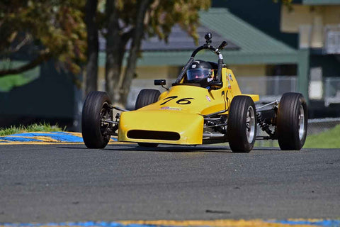 Dan Wise - 1973 Crossle 25F in Group 6 - Formula Ford Open Wheel Cars at the 2018 CSRG David Love Memorial run at Sonoma Raceway