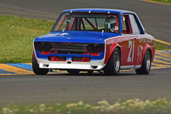 Glenn Chiou - 1971 Datsun 510 in Group 8 - SCCA Trans-Am, A, B, C Sedans& IMSA GTU/GTO cars at the 2018 CSRG David Love Memorial run at Sonoma Raceway