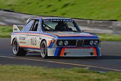 Thor Johnson - 1974 BMW CSL in Group 8 - SCCA Trans-Am, A, B, C Sedans& IMSA GTU/GTO cars at the 2018 CSRG David Love Memorial run at Sonoma Raceway