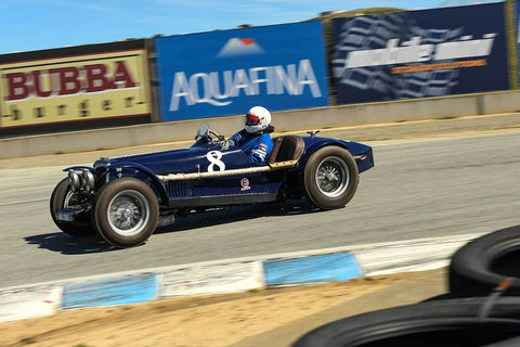 Richard Jeffery - 1935 Riley Special Brooklands in Group 1 - 1959-65 Sports Racing Cars at the 2018 HMSA Spring Club Event run at Mazda Raceway Laguna Seca