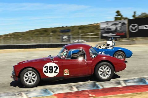 Jim Weissenborn - 1959 Byers CR90 MG Special in Group 1 - 1959-65 Sports Racing Cars at the 2018 HMSA Spring Club Event run at Mazda Raceway Laguna Seca