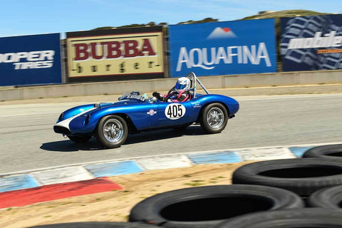 Susan Patterson - 1952 Devin MG Speedster TD in Group 1 - 1959-65 Sports Racing Cars at the 2018 HMSA Spring Club Event run at Mazda Raceway Laguna Seca