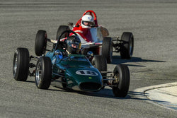 George Jewett - 1969 Merlyn mk 11 Formula Ford in Group 2 - Crossfolw Formula Ford at the 2018 HMSA Spring Club Event run at Mazda Raceway Laguna Seca