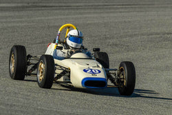 Jim Cody - 1969 Crossle 16F in Group 2 - Crossfolw Formula Ford at the 2018 HMSA Spring Club Event run at Mazda Raceway Laguna Seca