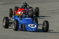 Michael Wirrick - 1975 Zink Z10 in Group 2 - Crossfolw Formula Ford at the 2018 HMSA Spring Club Event run at Mazda Raceway Laguna Seca